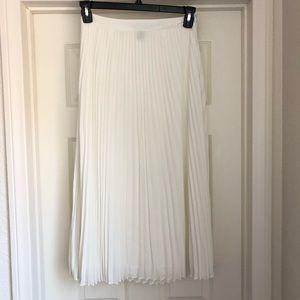 Forever 21 midi length pleated skirt